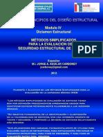 Método Simplificado para Evaluación Estructural