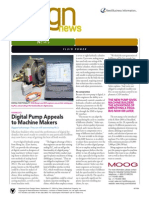 Digital Pump Appeals to Machine Makers