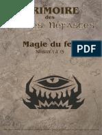 Grimoire Magie Feu