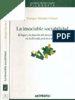 La Insociable Sociabilidad_Enrique Serrano Gomez
