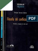 Filosofía Del Conflicto Político_Enrique Serrano Gomez
