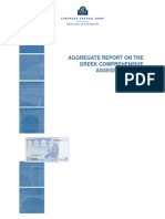 Aggregate report on the Greek banks' comprehensive assessment 2015