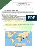 A.1 O Expansionismo Europeu Teste Diagnóstico 1