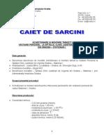 Caiet de Sarcini Tarkett