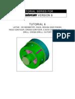 Mastercam C-Axis Tutorial6