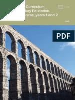 Integrated Curriculum in Social Sciences (ESO)