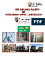UEP S.M.Asghar (Pvt) Limited  Brochure November 2015
