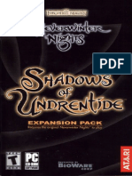 Neverwinter Nights Shadows of Undrentide Manual