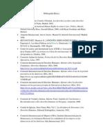 Bibliografía DDHH EJ 2015