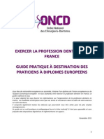 Exercer La Profession Dentaire en France-V4