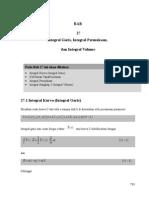 Integral Garis, Integral Permukaan,  dan Integral Volume