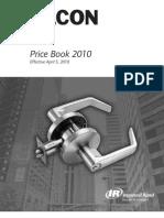 Falcon Pricebook 2010