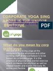 Corporate Yoga Singapore is the Unique Boutique