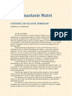 Bebe Anastasie Matei - Stapanul Sau Sclavul Femeilor