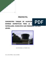 Proyecto Tanque de Plastico