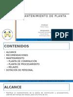 Mantencion Planta v4