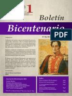 Boletín Bicentenario N° 4-5