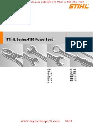 STIHL FC 90 95 100 110 FS 90 100 110 FS 130 HL 100 HT 100 HT 101 KM