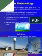 Radar and Storms