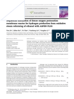 Sequential Simulation of Dense Oxygen Permeation Membrane Reactor for Hydrogen Production From Oxidative Steam Reforming of Ethanol With ASPEN PLUS 20