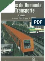 Modelos de Demanda de Transporte PDF