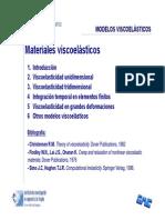 Clase - Materiales Viscoelásticos