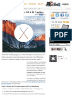 Fixing Wi-Fi Issues in OS X El Capitan