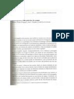 La etnografía como práctica de campo. Dolores Comas d´Argemir, Joan J. Pujadas y Jordi Roca i Girona