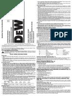 DW304PK Manual