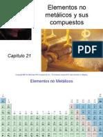 21. Elementos No Metalicos y Sus Compuestos. Raymond Chang
