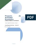 Proyecto de Actividad Económica