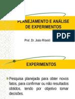 Planej e Anal de Experimentos - Estatistica Ensaios