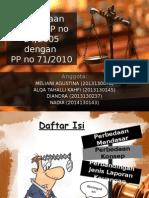 Perbedaan Pp 24 Dan Pp 71