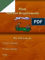 Plant Nutrients
