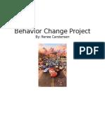 behavior change project  wesite