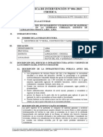 FTI N 004-2015 Quebrada Corrales