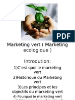 Marketing Vert Marketing Ecologique
