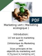 Marketing Vert Marketing Ecologique