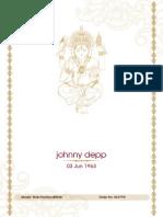 Johnney Depp