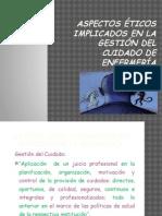 5.- Etica y Gestion Del Cuidado-Indicadores
