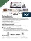settling the west unit planner