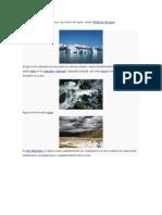 Para Las Propiedades Físicas y Químicas Del Agua