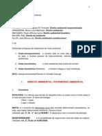 Direito ambiental - Resumo