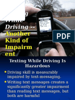 Texting and Driving Safety Presentation
