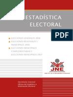 Estadistica Electoral