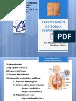 Exploración de Torax Respiratorio