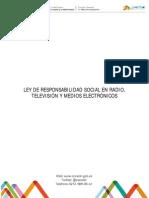 Ley de Responsabilidad Social en Radio Televisión y Medios Electrónicos