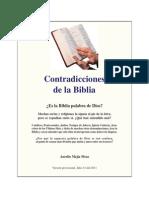 Biblia y Sus Contradicciones AurelioMejía-ContradiccionesdelaBiblia,Julio2011