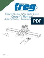 Kreg K5-K5MS Instruction Manual