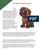 Centro De Mando De La Patrulla Canina Paw Patrol